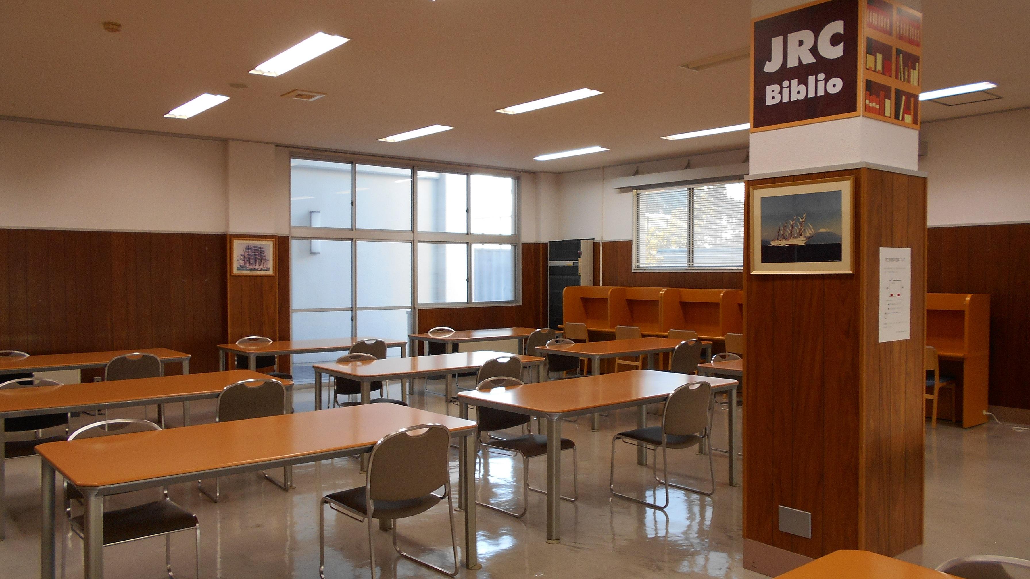 海事科学分館学生自習室